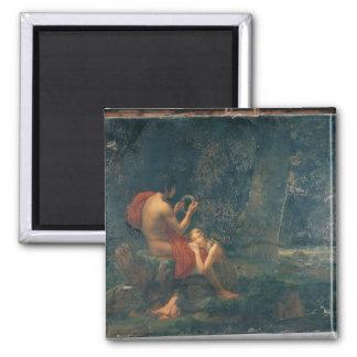 Daphnis y Chloe, 1824-25 Imán Cuadrado