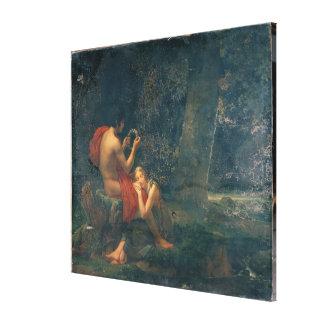 Daphnis y Chloe, 1824-25 Impresion En Lona