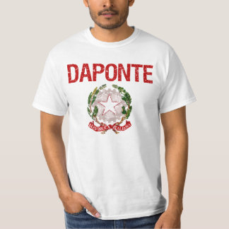 Daponte Italian Surname T-Shirt