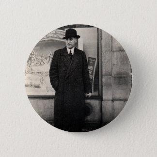 dapper 1930s man photo button