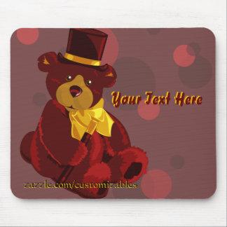 Dapper Bear Mousepad