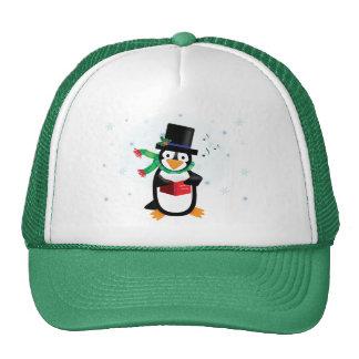 Dapper Caroling Penguin Hat
