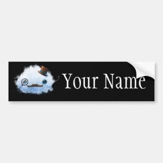 Dapper Cloud Bumper Sticker