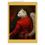 Dapper Court Cat Card