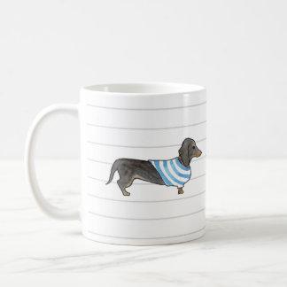 Dapper Dachshund Mug - Watercolor Pup