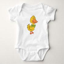 Dapper Ducky Baby Jersey Bodysuit