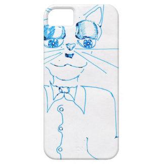 Dapper Felidae iPhone 5 Cases