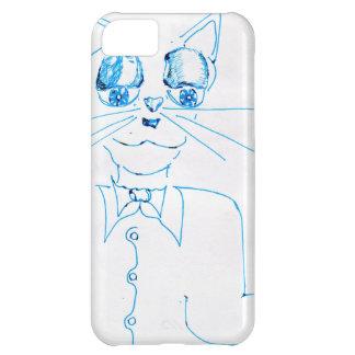 Dapper Felidae Case For iPhone 5C