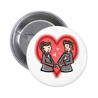 Dapper Grooms Button
