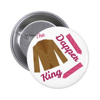 Dapper King 2 Inch Round Button
