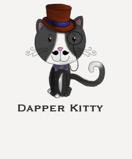 Dapper Kitty Tee Shirt