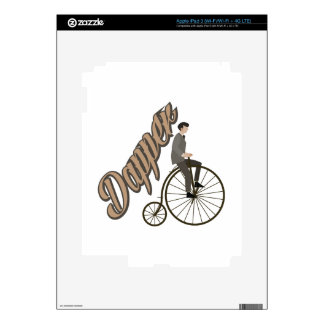 Dapper Man iPad 3 Decal