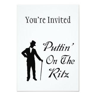 Dapper Man Puttin On The Ritz Card