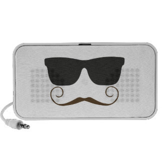Dapper Mustache Travelling Speaker