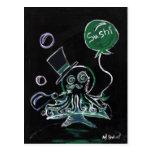 Dapper Octopus Postcard