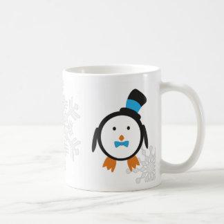 Dapper Penguin Couple Mug