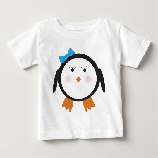 Dapper Penguin Girl Shirt