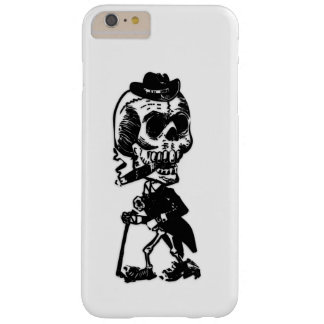 Dapper Skeleton Barely There iPhone 6 Plus Case