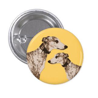 Dapper Whippets Button