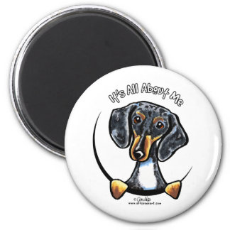 Dapple Dachshund Its All About Me Magnet