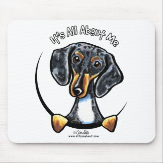 Dapple Dachshund Its All About Me Mouse Pad