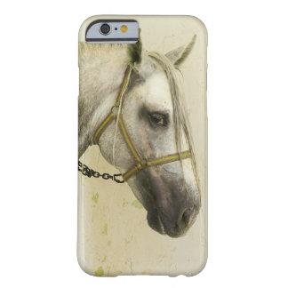 Dapple el caballo andaluz gris funda para iPhone 6 barely there