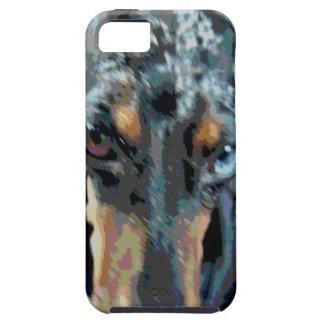Dapple el Dachshund iPhone 5 Cárcasa