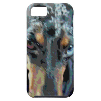 Dapple el Dachshund iPhone 5 Carcasa