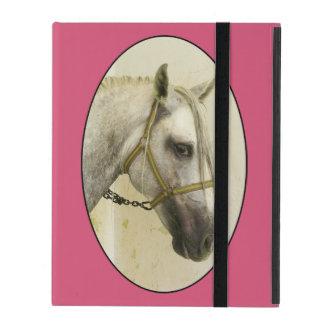 Dapple Gray Andalusian Horse iPad Folio Case