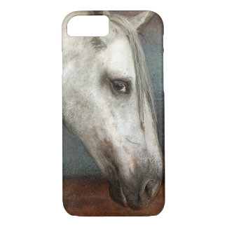 Dapple Gray Andalusian Horse Portrait iPhone 7 Case