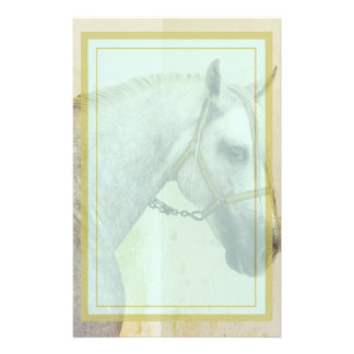 Dapple Gray Andalusian Horse Stationery
