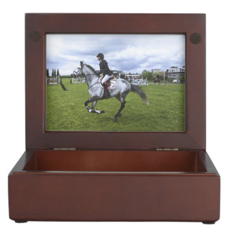 Dapple Grey And Rider Keepsake Box