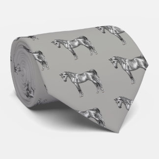 Dapple Grey Egyptian Arabian Horse Tie
