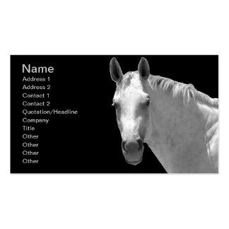 Dapple Grey Horse Business Card