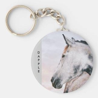 Dapple-Grey Keyring Key Chain