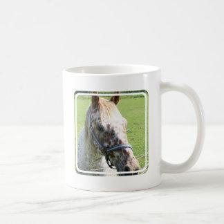 Dappled Appaloosa Horse Coffee Mug