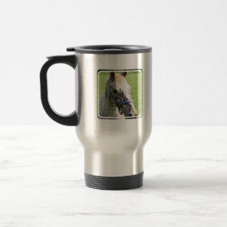 Dappled Appaloosa Horse  Stainless Travel Mug