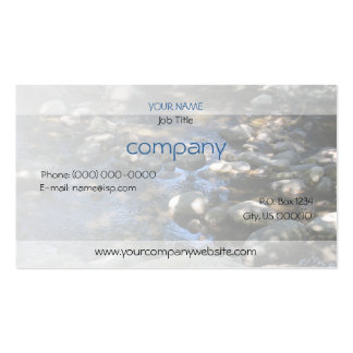Dappled Creek Profile Card Double-Sided Standard Business Cards (Pack Of 100)