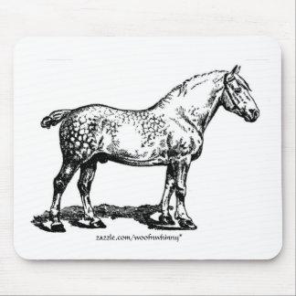 Dappled Draft Horse Mouse Pad