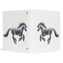 Dappled Gray Horse Avery Binder