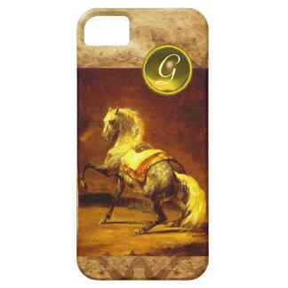 DAPPLED GREY HORSE MONOGRAM iPhone 5 CASES