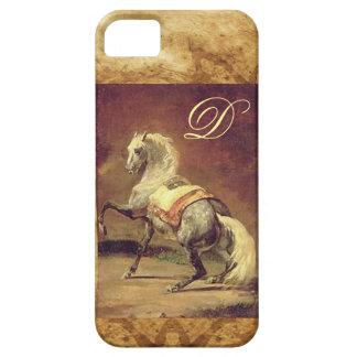 DAPPLED GREY HORSE MONOGRAM iPhone SE/5/5s CASE