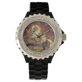 DAPPLED GREY HORSE Monogram Wrist Watch