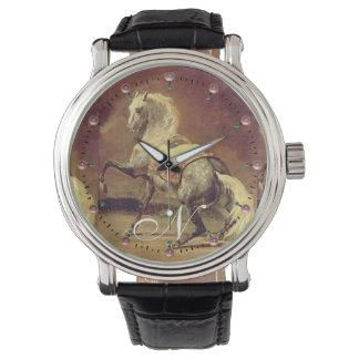 DAPPLED GREY HORSE Monogram Wristwatch