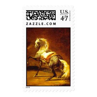 DAPPLED GREY HORSE STAMP