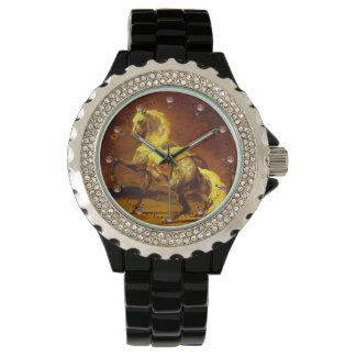 DAPPLED GREY HORSE WRIST WATCHES