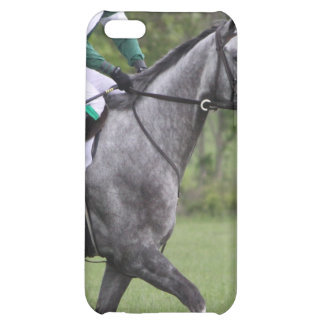 Dappled Grey Race Horse iPhone 4 Case