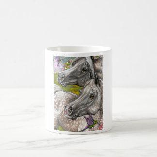 DAPPLED HORSES Hummingbird Mug
