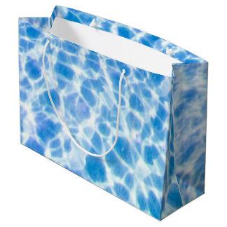 Dappled Water Large Gift Bag