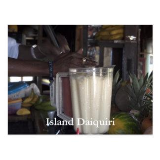 Daquri Blenders, Island Daiquiri Postcard